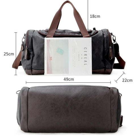 Image of Leather Messenger - Far East Hype
