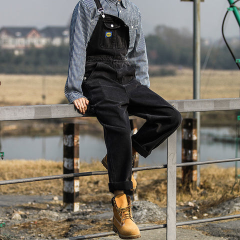 Denim Bib Overall