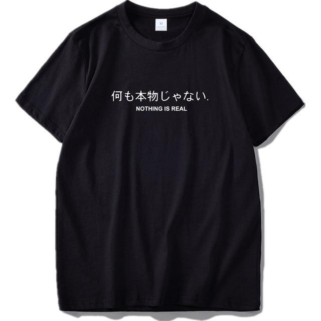 "Spoken Script ""Nothing is real"" Shirt"