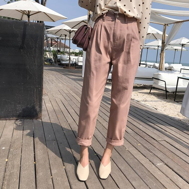 Mishow Cropped Trousers - Far East Hype
