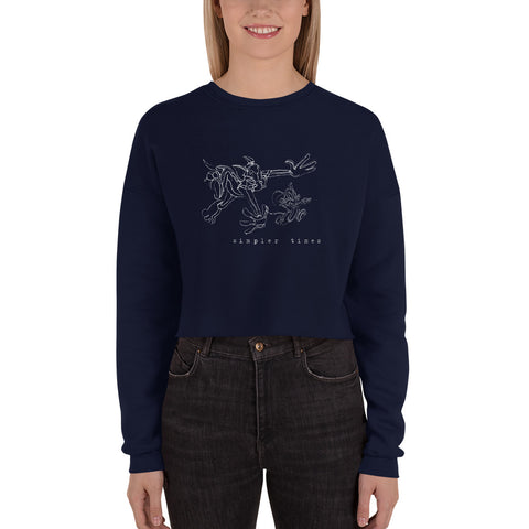 Tom and Jerry - Cropped Sweater