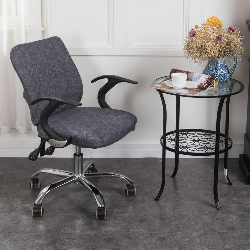 Decorative Computer Office Chair Cover-Gray