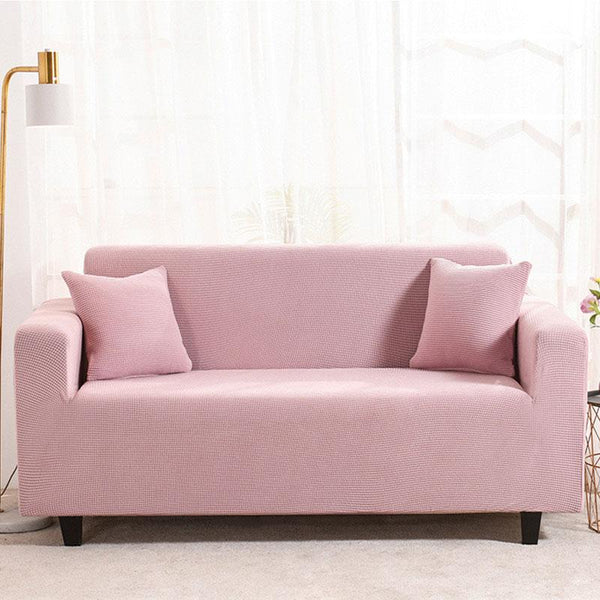 Waterproof Universal Elastic Couch cover-Pink
