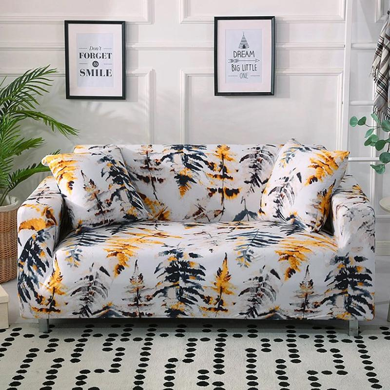 Elastic printing Couch cover-EMIL HOLLOWAY TREE