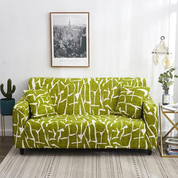 Elastic Stretchable printing Couch cover-Impressionism