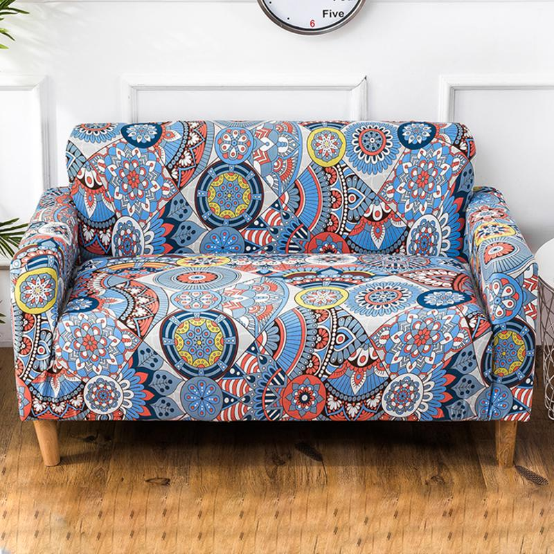 Elastic printing Couch cover-Bohemia