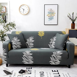 Elastic printing Couch cover-BRET MAY