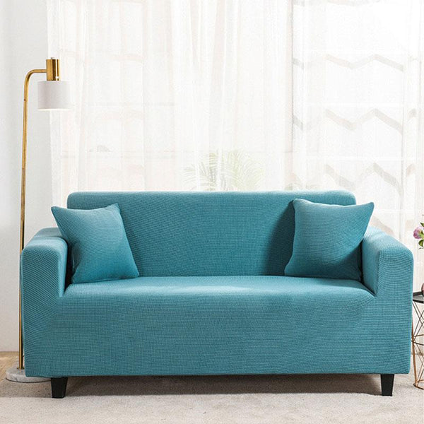 Waterproof Universal Elastic Couch cover-Baby blue