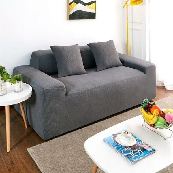 Waterproof Universal Elastic Couch Cover-Light grey