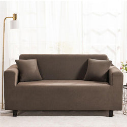 Waterproof Universal Elastic Couch cover-Tan
