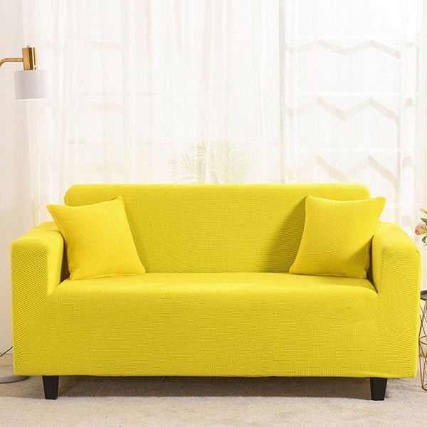 Waterproof Universal Elastic Couch cover-Yellow