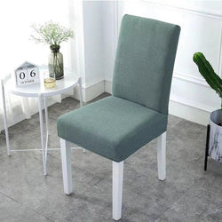 Waterproof Rhombus Grain Chair Cover-Light Green
