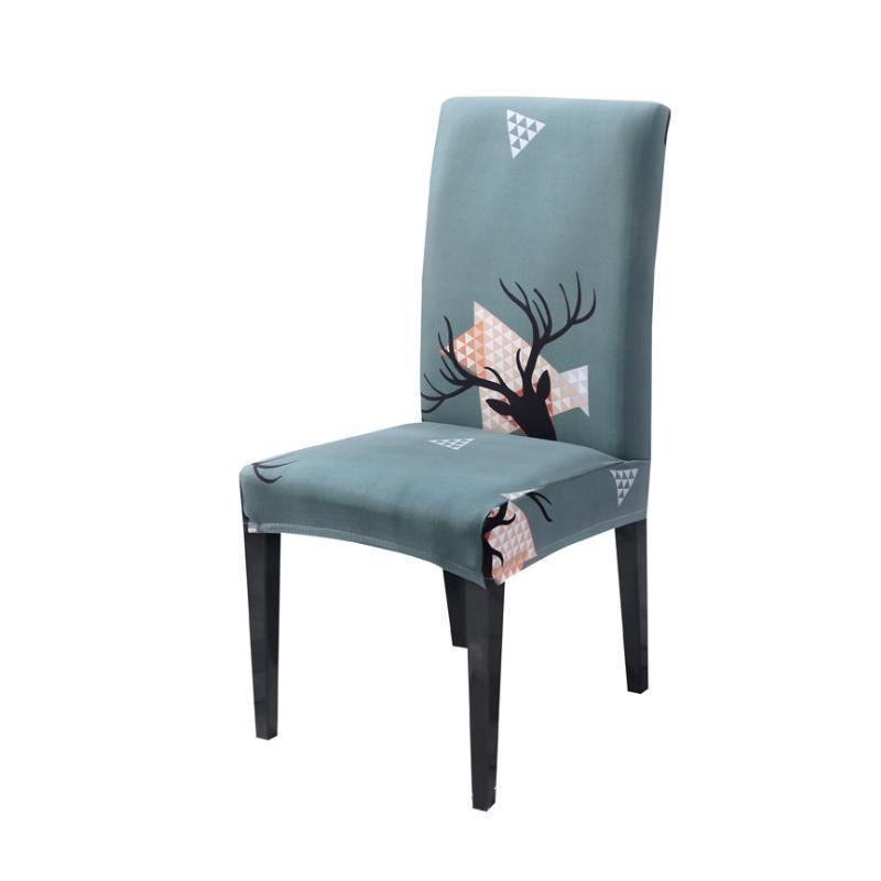 Christmas universal chair cover-Linge antler