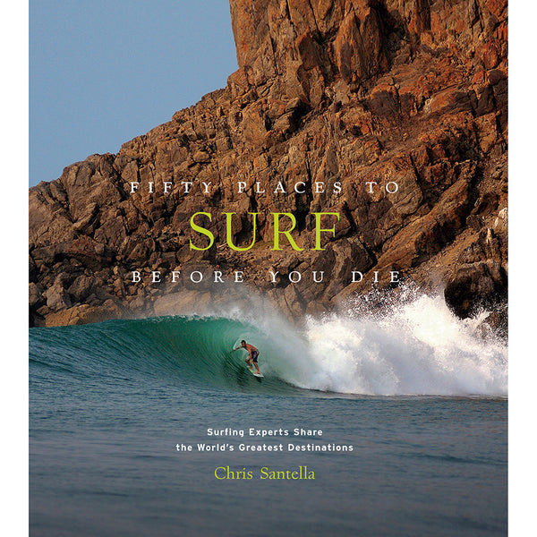 Front cover fifty places to surf before you die