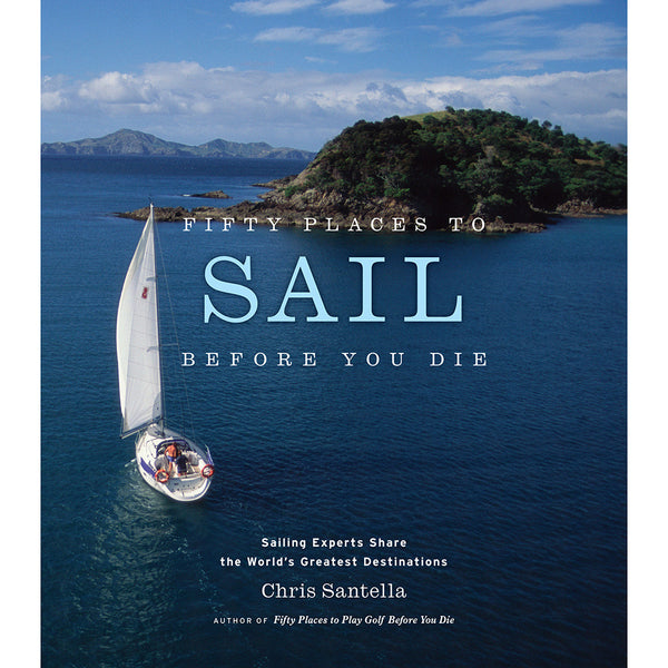 Front cover Fifty places to sail before you die