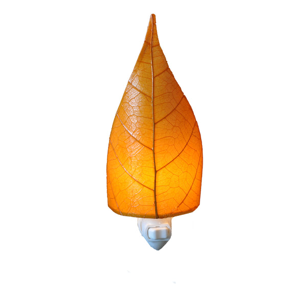 Leaf Nightlight Orange