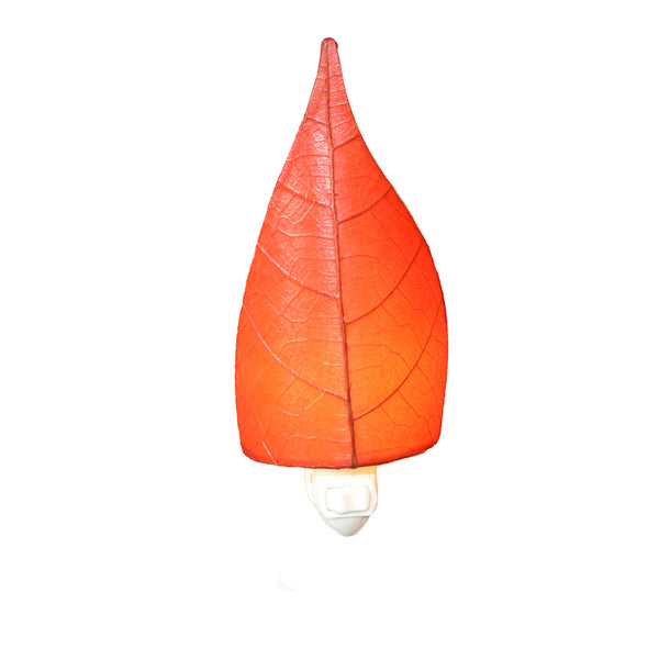 Leaf Nightlight Red