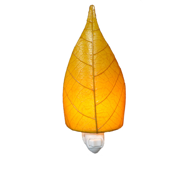 Leaf Nightlight Yellow