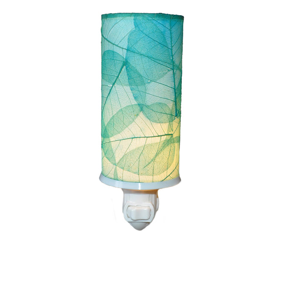 Cylinder Nightlight Sea Blue