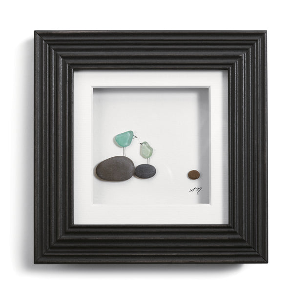 Once upon a Pebble Wall Art