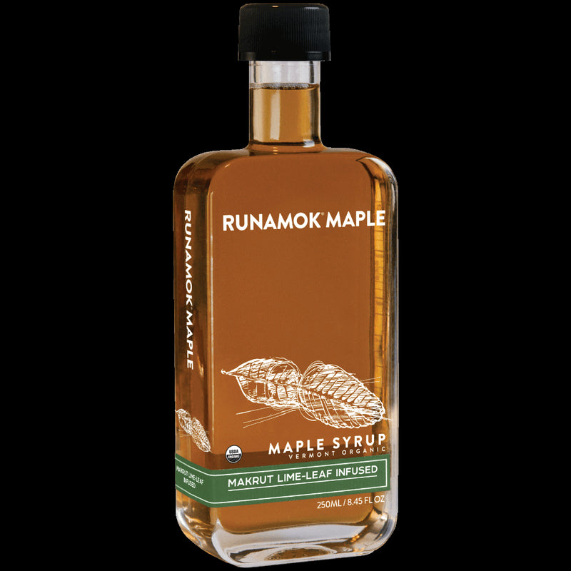 Makrut Lime Leaf Maple Syrup