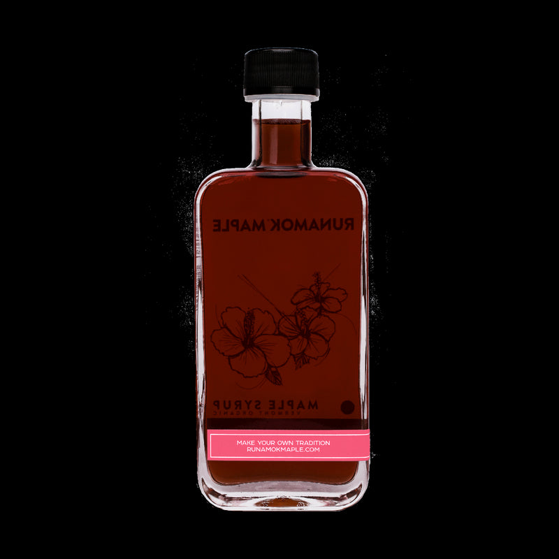 Hibiscus Flower Maple Syrup