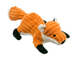 Plush Fox Squeaker Toy 12""