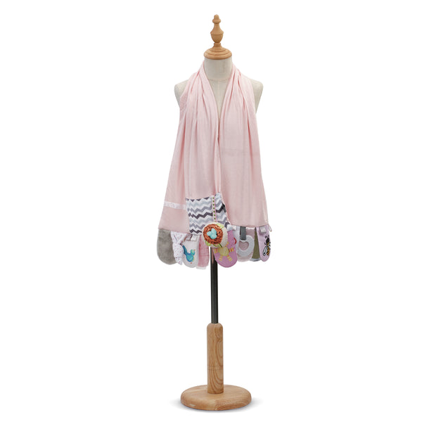 Mommy Activity Scarf Pink