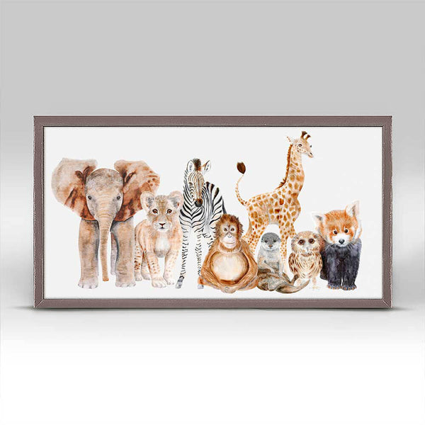Animal Montage Row 1 Art