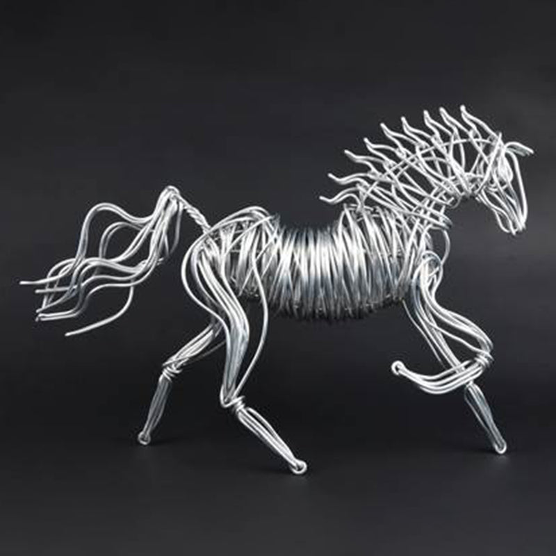 Small Horse Wire Sculpture
