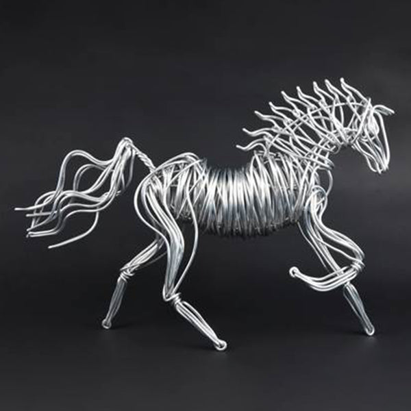 Large Horse Wire Sculpture