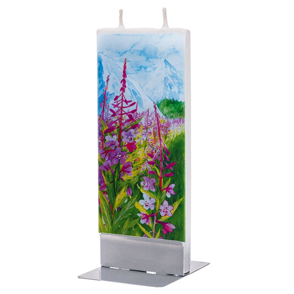 Fireweed in Mountains Candle