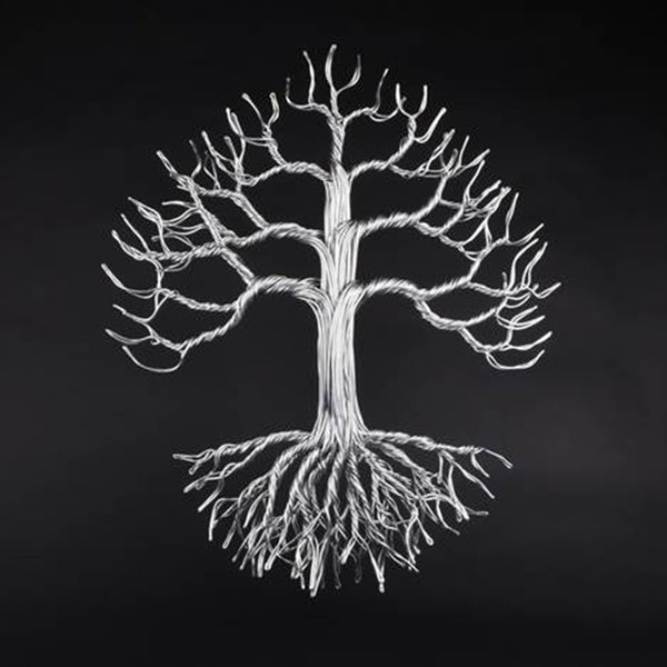 Small Wall Tree Wire Sculpture