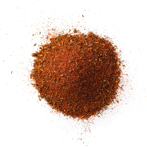 Closeup of spices in Black Magic Cajun blackening blend