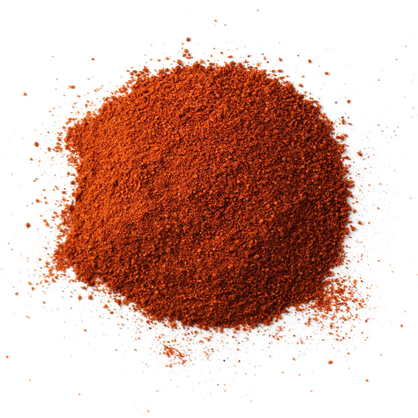 Closeup of spices in Raspberry Chipotle Sweet & Spicy Rub
