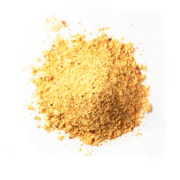 Closeup of spices in Hickory peach porter rub