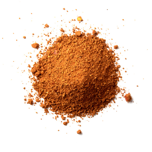 Closeup of spices in Imperial coffee stout rub