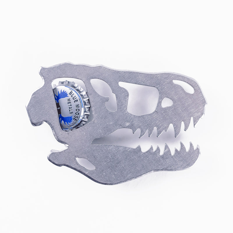 T-Rex Bottle Opener Silver