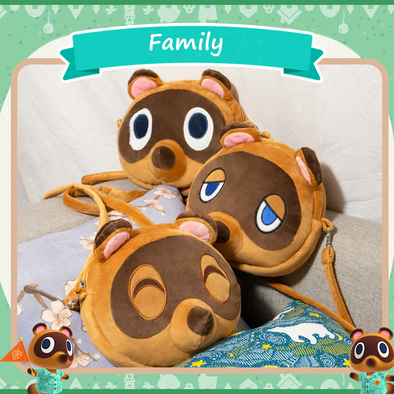 Cute Tom Nook Cross Bag