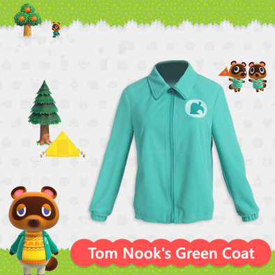 Tom nook's Green Coat