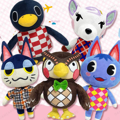 Animal Villagers Plush Toy