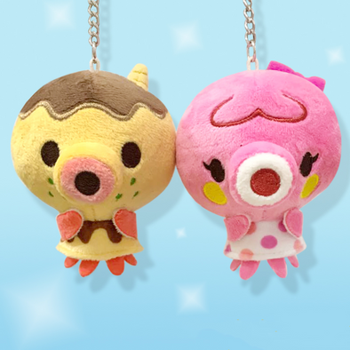 Handmade Animal Villagers Plush Pendant(9cm)