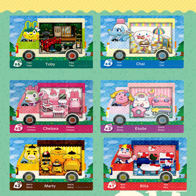 Sanrio Villagers Cards
