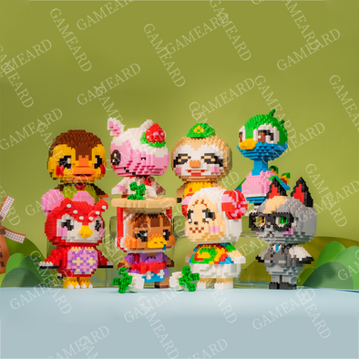 Animal Villagers Bricks DIY Toy