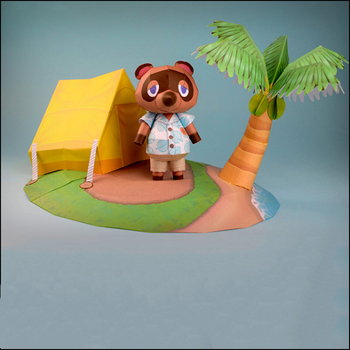 Animal Villagers DIY Paper Model Toy