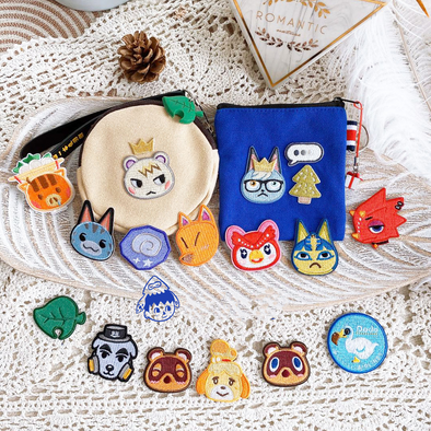 Animal Villagers Embroidery Stickers