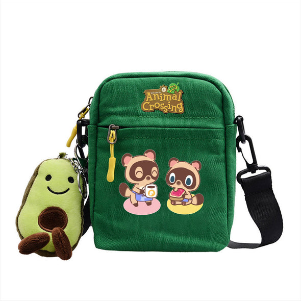 Animal Villagers Crossing Square Bag