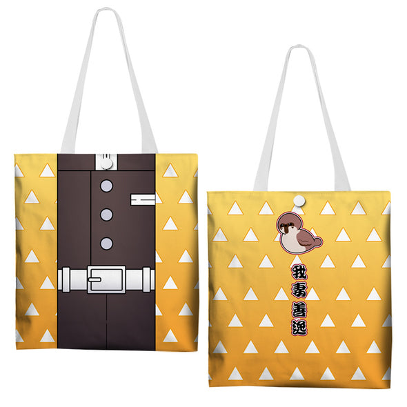 Anime Custom Printed Impression Canvas bag