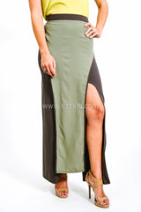 Cameo Chic Long Skirt