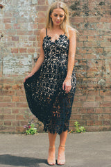 Alice Lace Dress Black